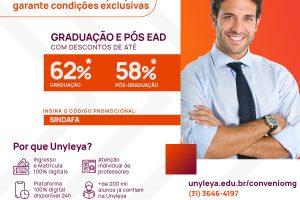 Sindafa-MG valoriza educação profissional e negocia bolsas de estudo para filiados